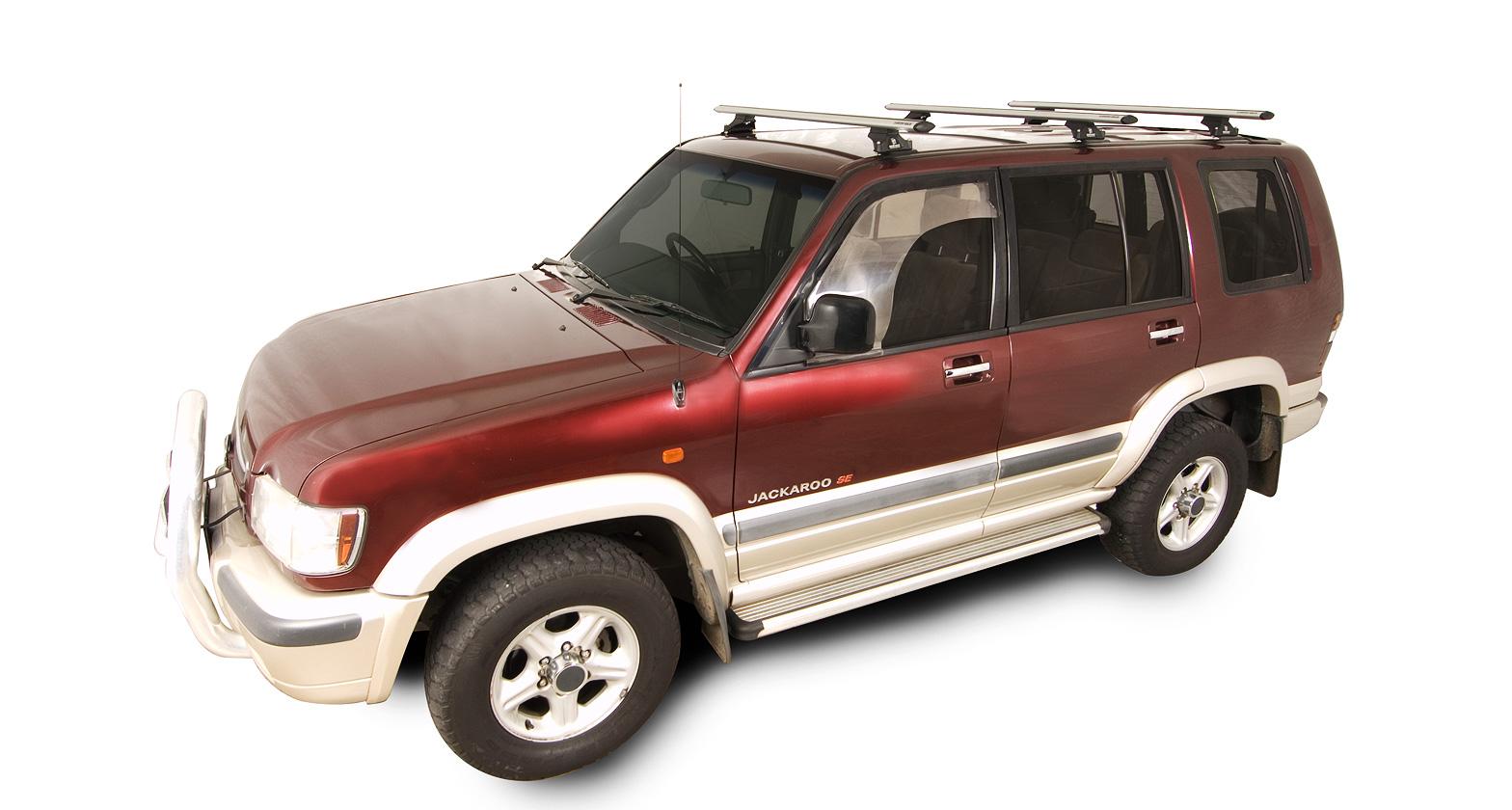 Holden Jackaroo 4dr 4wd Lwb 04 92 To 09 04 Rhino Rack Vortex Roof Racks 3 Bar Roof Rack World